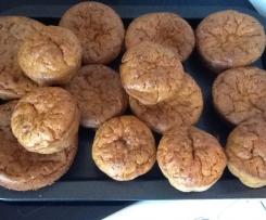 Muffins miettes de crabe au curry