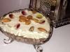 Assida Zgougou / crème de pin d'Alep (dessert tunisien)