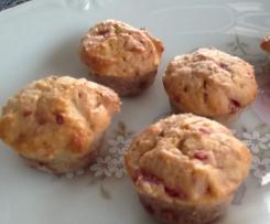 Mini muffins panais framboise