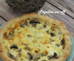 Quiche saumon et boursin