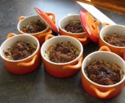 Le chili-choco (chili con carne parfumé au chocolat)