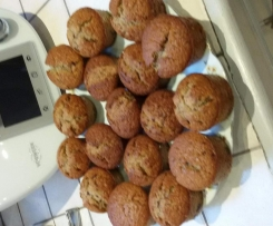 Muffins choco-amande
