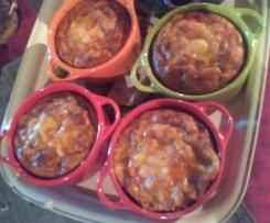 Clafoutis au thon sans gluten