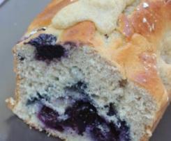 Cake aux myrtilles et à la farine de petit épeautre
