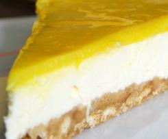 Cheesecake au citron régime