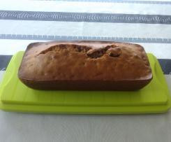 Cake sarrasin pépites de chocolat