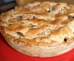 Appeltaart:(la vraie tarte aux pommes néerlandaise)