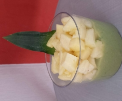 Verrine exotique avocat/ananas