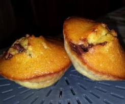 Muffins pistaches nutella