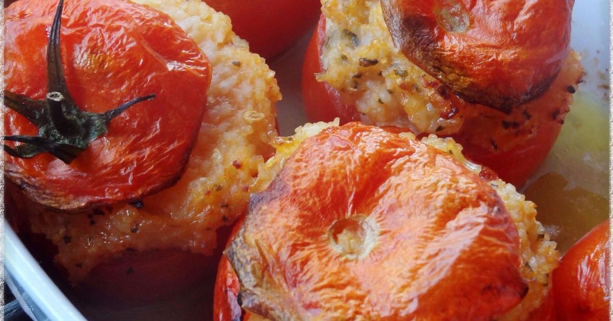 Tomates farcies au riz par Coraline83. Une recette de fan ...