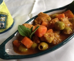 tagine aux olives
