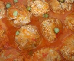 Boulettes de viande à la sauce tomate maison