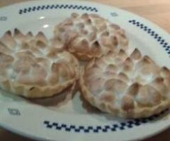 Tartelettes au citron meringuée