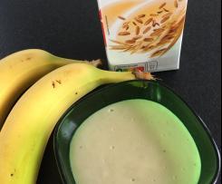Crème de banane au lait d'avoine