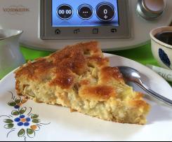 Gâteau amandine à la rhubarbe  (avec ou sans gluten)