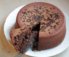 Gateau moelleux chocolat sans oeufs