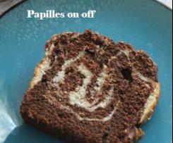 Gâteau marbré - IG bas