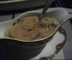 Sauce forestière aux champignons