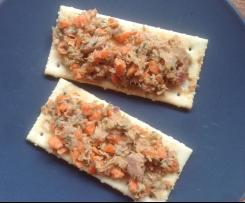 Tartinade thon-carottes