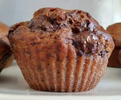 Muffin Choco-Banane VEGAN