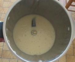 Sauce béchamel végétalienne (sans plv)