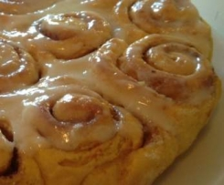 Cinnamon roll au potimarron