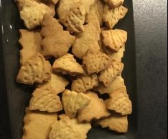 Sablés de Noël noix de coco