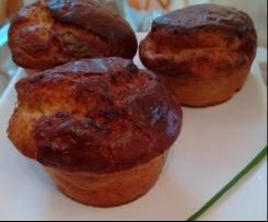 Muffins aux lardons et aux abricots