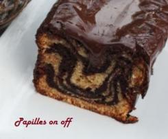 Cake marbré glacé au chocolat - JF Piège