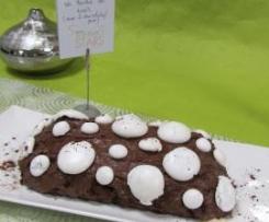 Spécial fêtes - La Bûche de Noël aux deux chocolats et poire