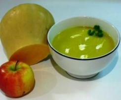 Velouté fruité au butternut