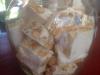 Nougat blanc croquant au miel, amandes et noisettes