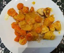 Blanquette de Poulet aux carottes
