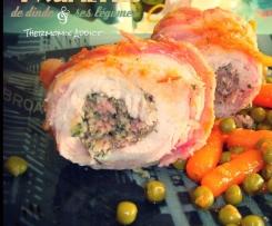 Paupiettes de veau et petits légumes