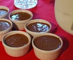 Crème dessert au chocolat au lait