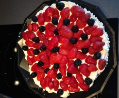 Pavlova (meringue/chantilly)