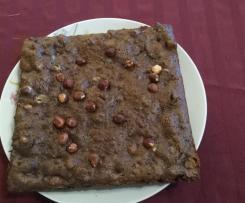 brownies chocolat sans beurre