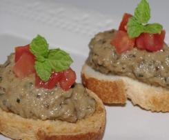 Caviar d'aubergine crémeux