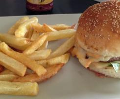 Hamburger maison moelleux