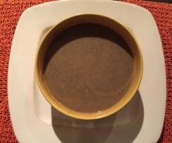 Velouté de lentilles à la saucisse de Morteau