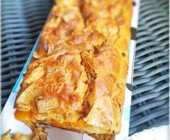 Cake au surimi et carottes au cumin