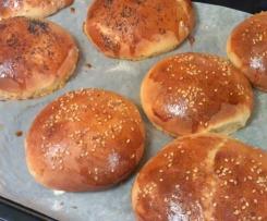 Bun's moelleux (pains hamburger)