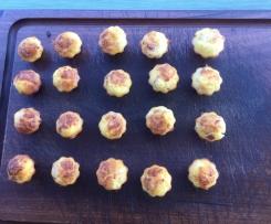 Mini Muffins façon Flammenkuche