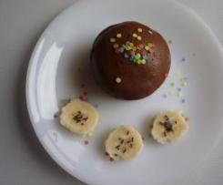fondant léger chocolat banane