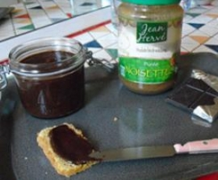Pâte à tartiner bio noisette&chocolat