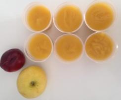 Compote bébé 6 mois - Pomme Nectarine