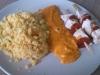 poulet chorizo et semoule en multicuisson