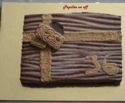 Entremets façon royal au chocolat et spéculoos