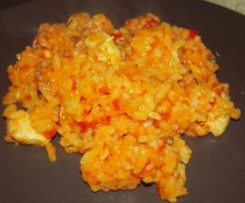 Risotto poulet/tomate
