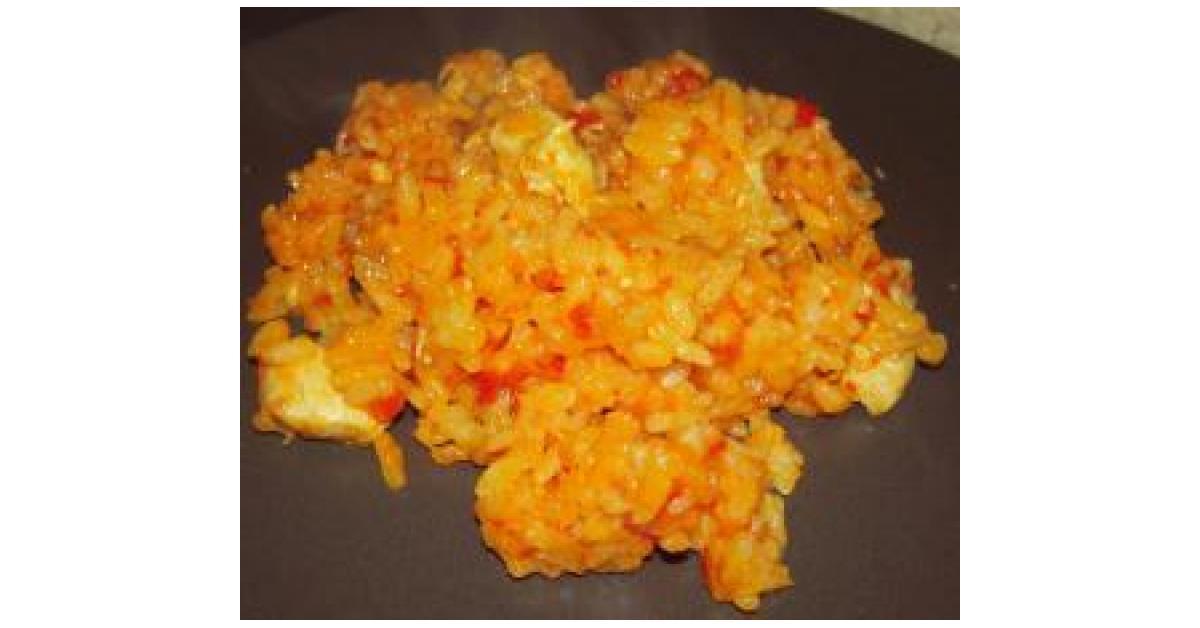 Risotto poulet tomate par conseill rem lanie une recette de fan retrouver dans la cat gorie - Combien de gramme de riz par personne ...